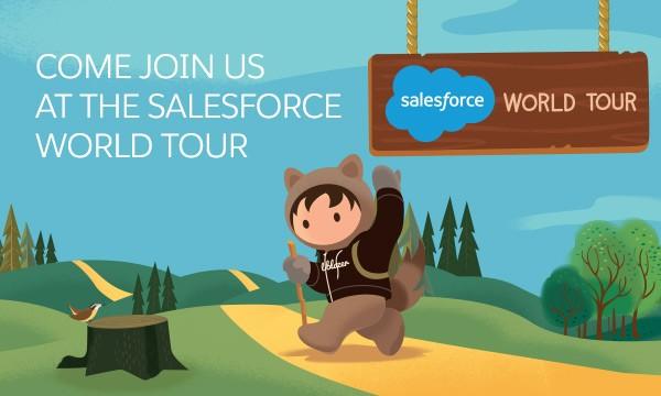 Salesforce World Tour LA CloudMasonry Gold Sponsor Image