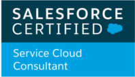 Salesforce Service Cloud Certification Badge