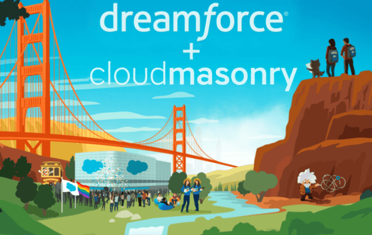 CloudMasonry Dreamforce 2019 Sponsor
