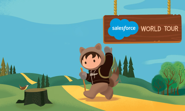 CloudMasonry Official Sponsor of Salesforce World Tour Los Angeles 2019