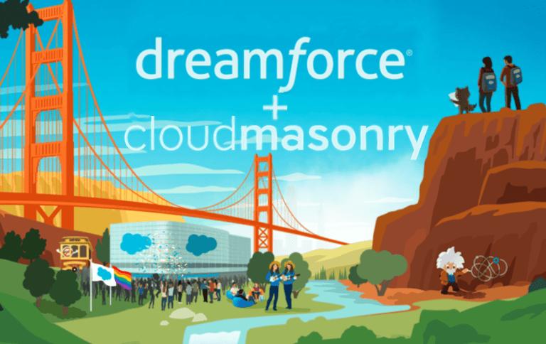 CloudMasonry Official Sponsor of Salesforce Dreamforce 2019